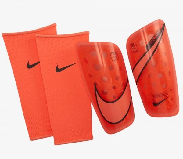 Nike Mercurial Lite Fußball-Schienbeinschoner Erwachsene orange