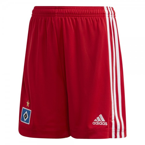 Adidas Hamburger SV Home Shorts 2020 2021 Kinder rot weiß