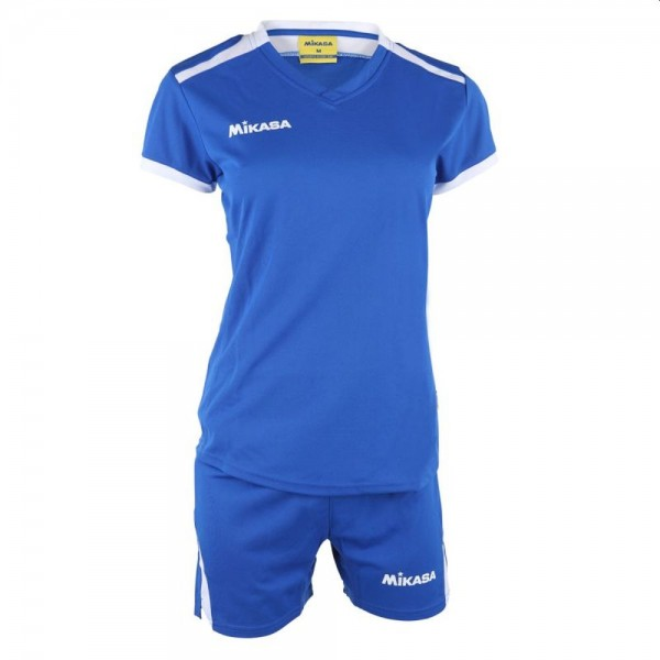 Mikasa Volleyball Trikot Set Damen blau weiß