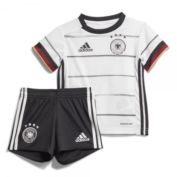 Adidas DFB Deutschland Mini-Heimausrüstung Heimset EM 2020 Babys weiß