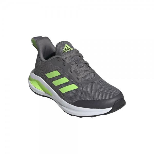 Adidas FortaRun 2020 Laufschuhe Kinder grau neongrün