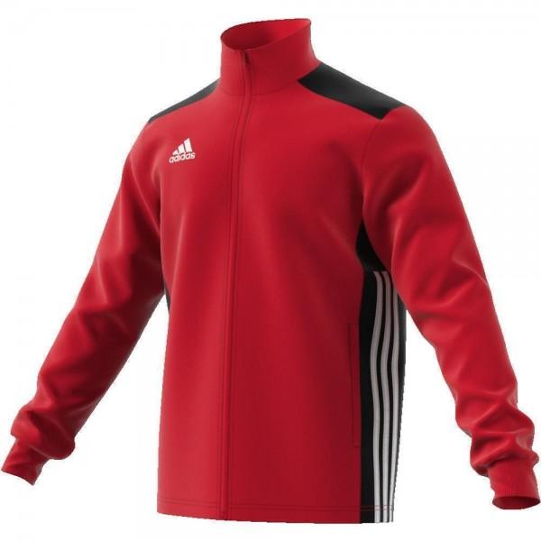 Adidas Fußball Regista 18 Trainingsjacke Fußballjacke Kinder rot schwarz