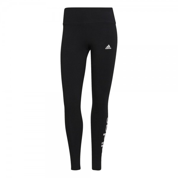 Adidas Essentials High-Waisted Logo Leggings Damen schwarz