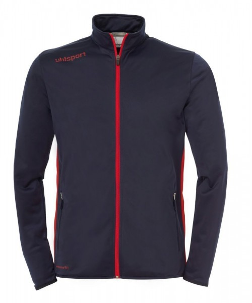 Uhlsport Fußball Herren Essential Classic Trainingsanzug Jacke Hose marine rot