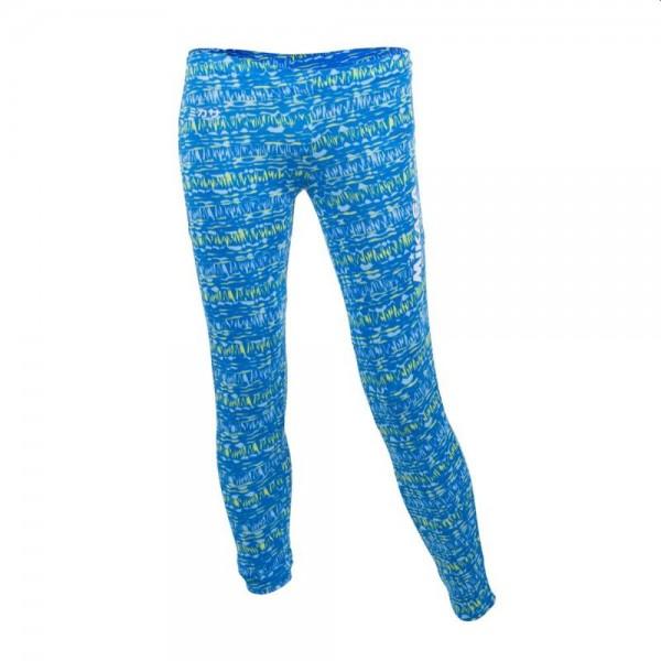 Mikasa Beachvolleyball Lange Tights Damen blau