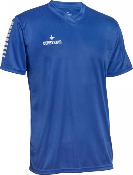 Derbystar Contra Trikot Herren Kinder blau weiß