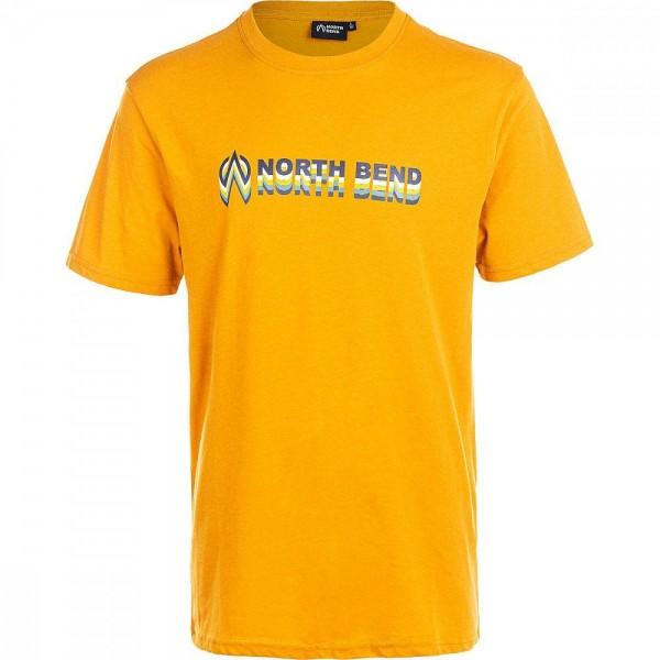 North Bend Sonora M T-Shirt Herren gelb