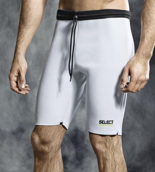 Select Handball Profcare Thermohose Funktionshose Herren Short weiß schwarz