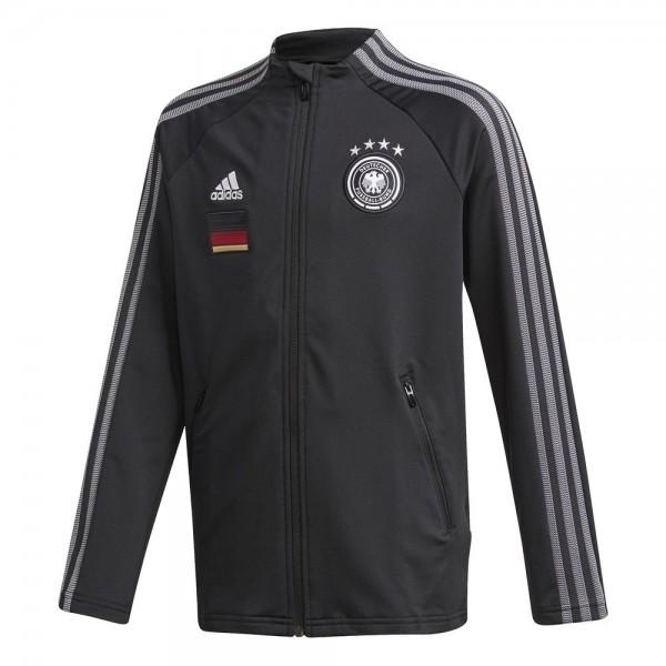 Adidas Deutschland Anthem Jacke Kinder schwarz