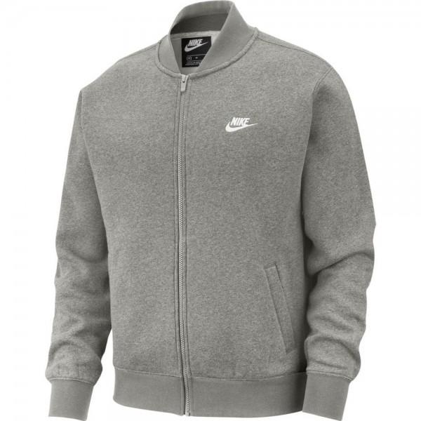 Nike Sportswear Club Bomberjacke Herren grau