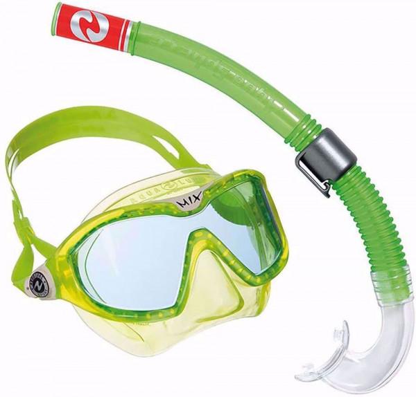 Aqua Lung Combo Mix Tauchset grün weiß Gr S