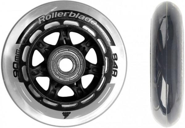 Rollerblade Wheelkit 90MM/84A + SG9 schwarz