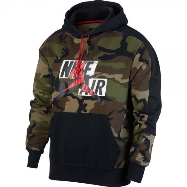 Nike Jordan Jumpman Classics Hoodie Herren khaki