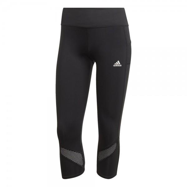 Adidas Own The Run 3/4 Tights Damen schwarz