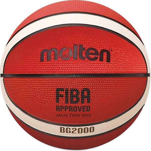 Molten B6G2000 FIBA Basketball orange Gr 6