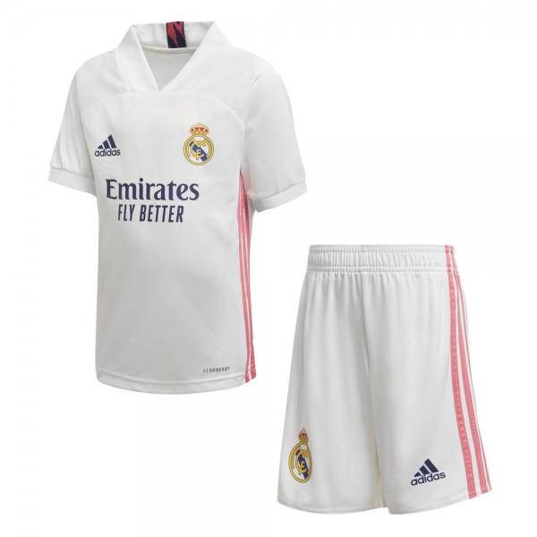 Adidas Real Madrid Junior-Heimausrüstung 2020 2021 Kinder