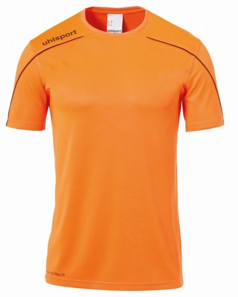 Uhlsport Fußball Stream 22 Trikot Herren Kurzarmshirt orange schwarz