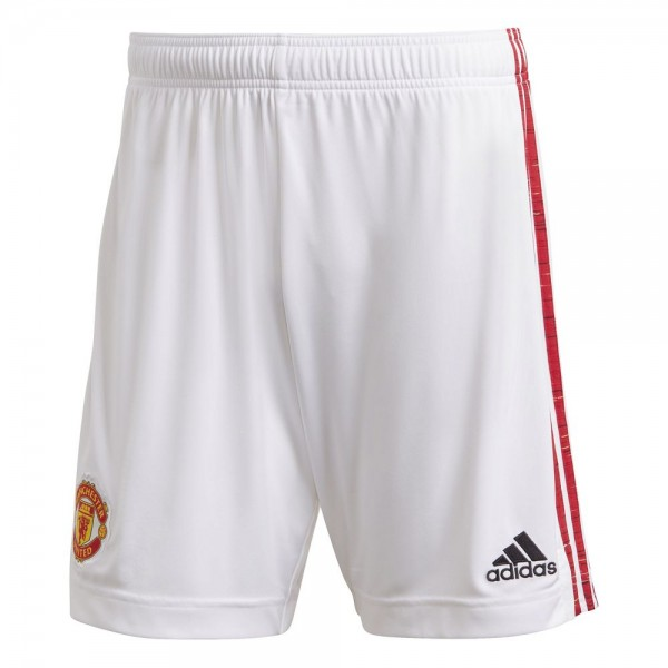 Adidas Manchester United Home Shorts 2020 2021 Kinder weiß