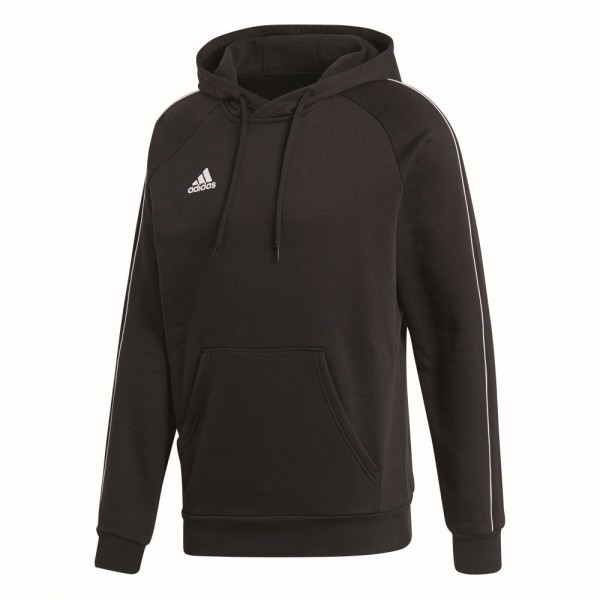 Adidas Fußball Core 18 Hoodie Kapuzenpullover Herren schwarz