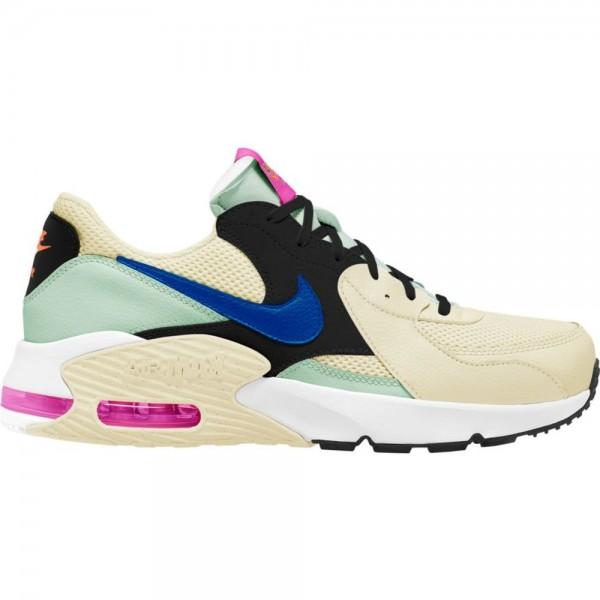 Nike Air Max Excee Trainingsschuhe Damen beige schwarz hellgrün