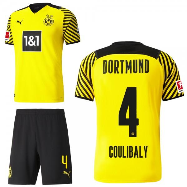 Puma Borussia Dortmund Heimset 2021 2022 Herren Soumaïla Coulibaly 4