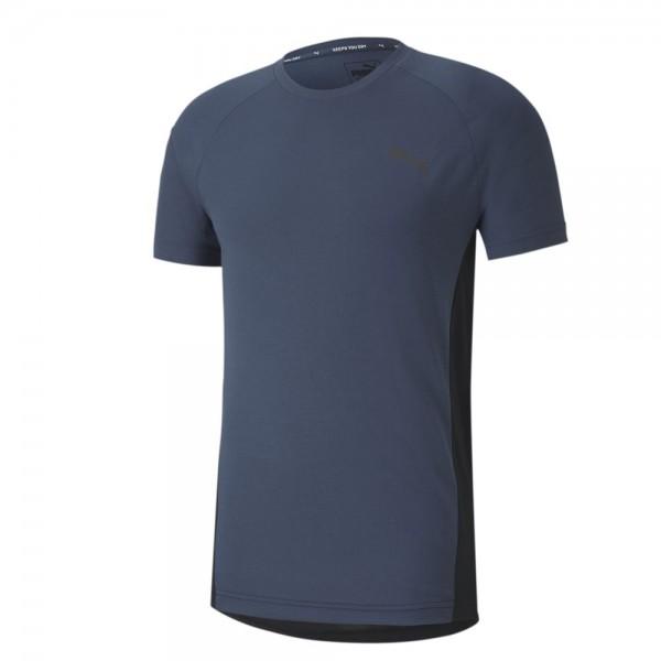 Puma Evostripe T-Shirt Herren dunkelblau