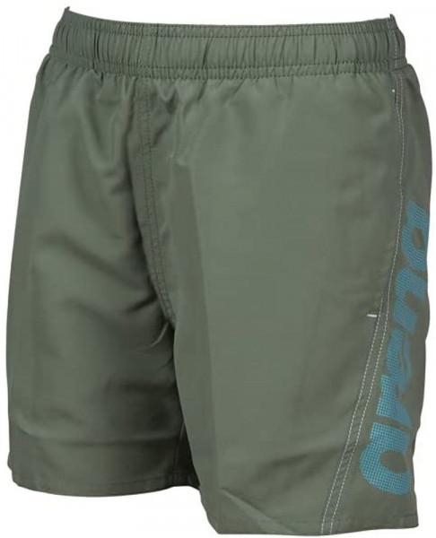 Arena Fundamentals Logo Shorts Jungen khaki blau