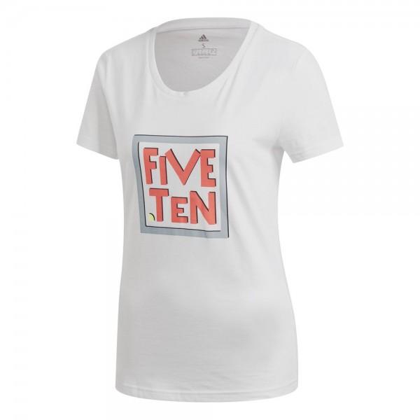 Adidas Five Ten Heritage Graphic T-Shirt Damen weiß