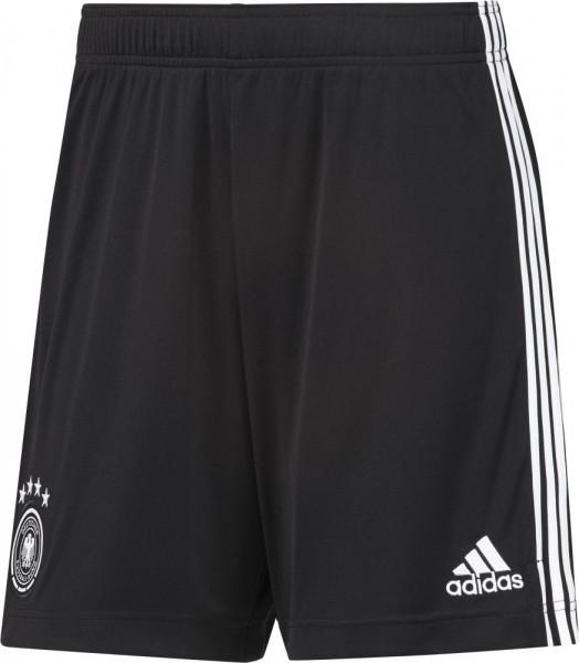 Adidas Fußball Herren DFB Deutschland Home Hose Heim Shorts EM 2020 schwarz weiß