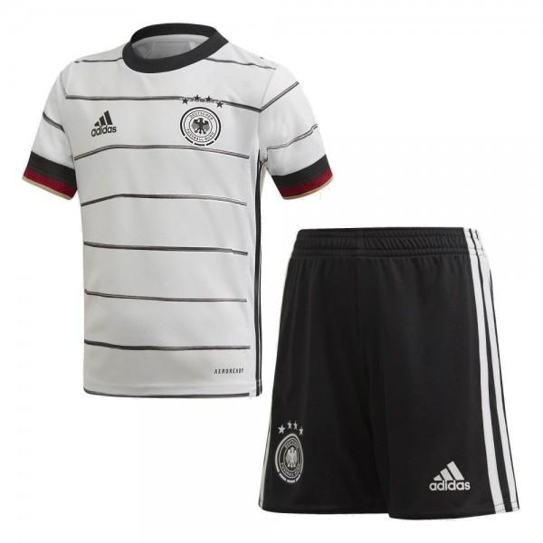 Adidas DFB Deutschland Mini-Heimausrüstung Heimset EM 2020 Kinder weiß