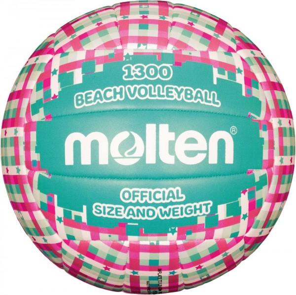 Molten V5B1300-CG Beachvolleyball pink grün Gr 5