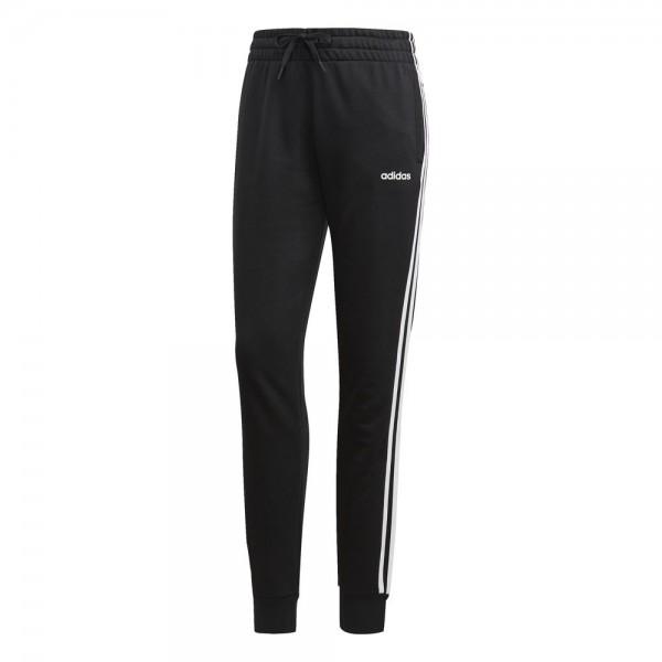 Adidas Frauen Essentials 3-Streifen Hose Petite-Größen schwarz weiß