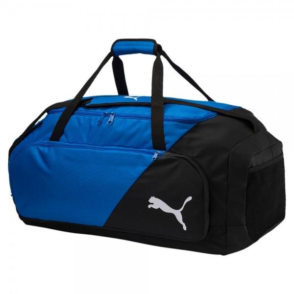 a36fbda370938 Puma Fußball LIGA Große Tasche Fußballtasche Sporttasche schwarz blau