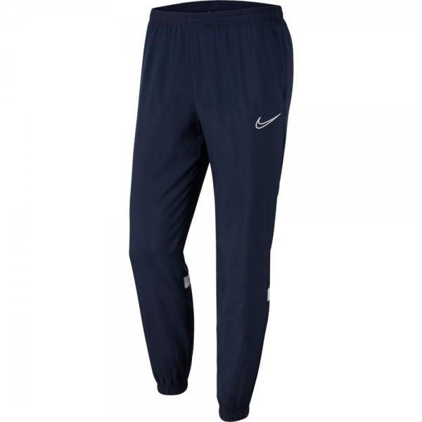 Nike Dri-FIT Academy 21 Woven Track Hose Herren dunkelblau weiß