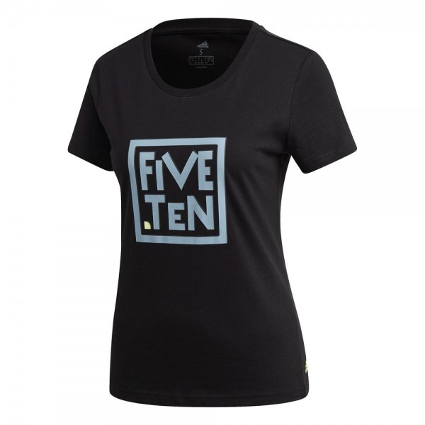 Adidas Five Ten Heritage Graphic T-Shirt Damen schwarz